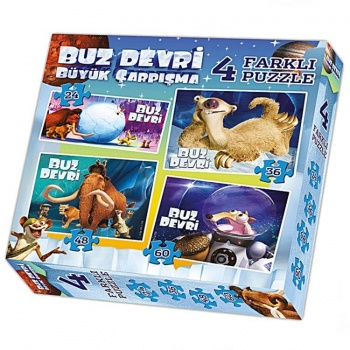 Ice Age 4in1 Puzzle