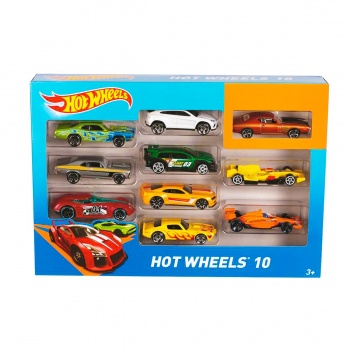 Hot Wheels 10lu Araba Seti